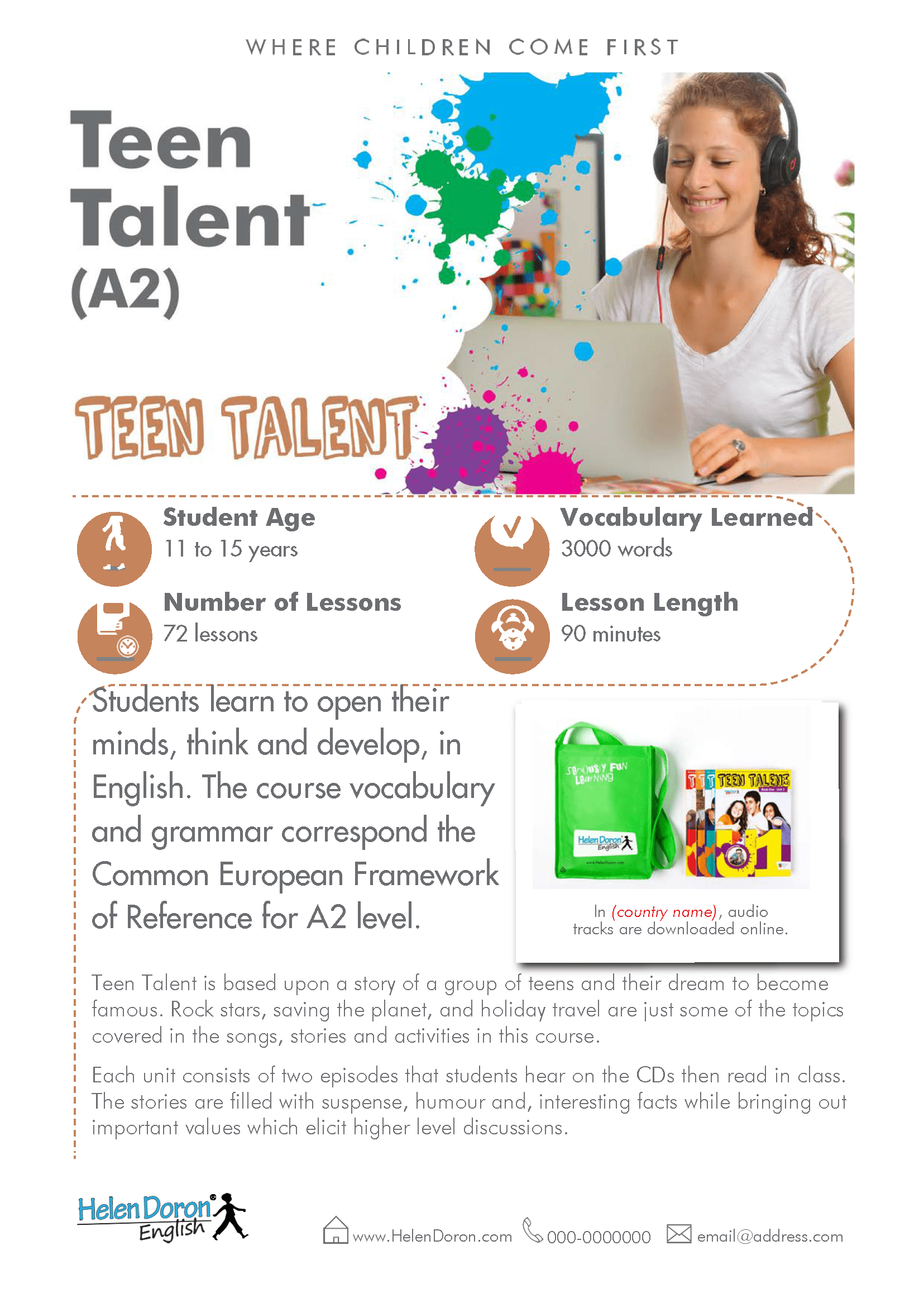 Preuzmi - Teen Talent (A2)