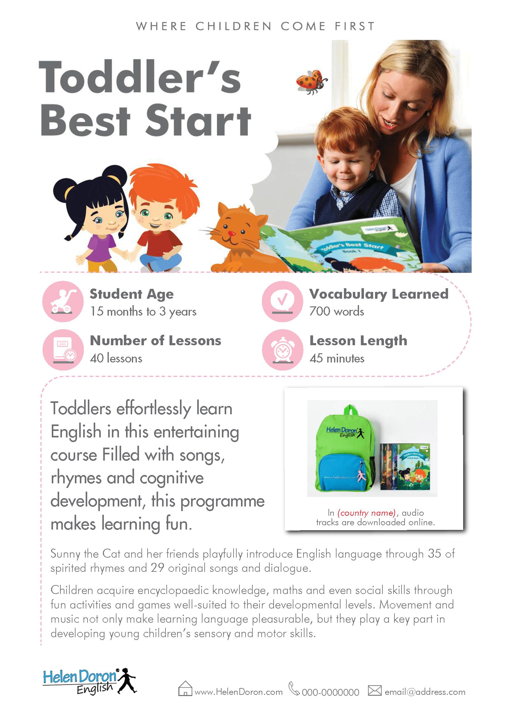 Preuzmi - Toddler's Best Start